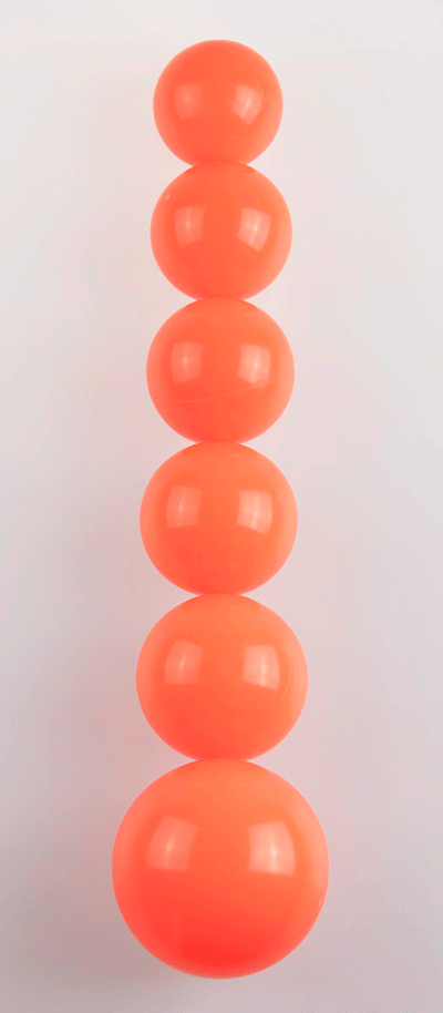 Juggling ball sizes