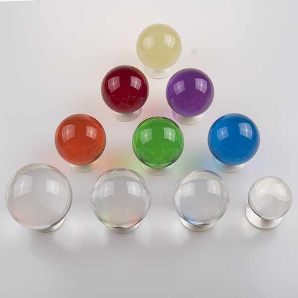 View: Clear and Colored Acrylic Contact Balls