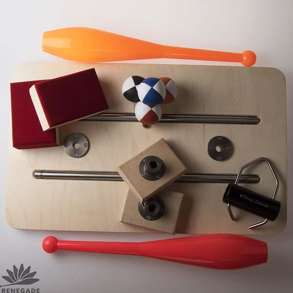 instructional juggling equipment