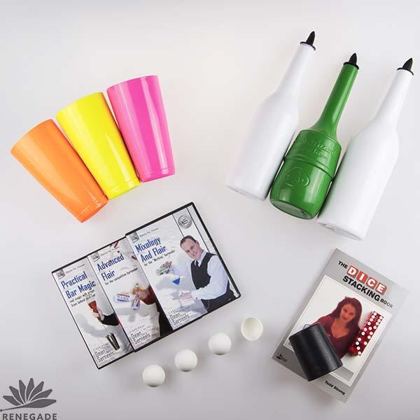 Flair, Shaker Cups, Magic Tricks