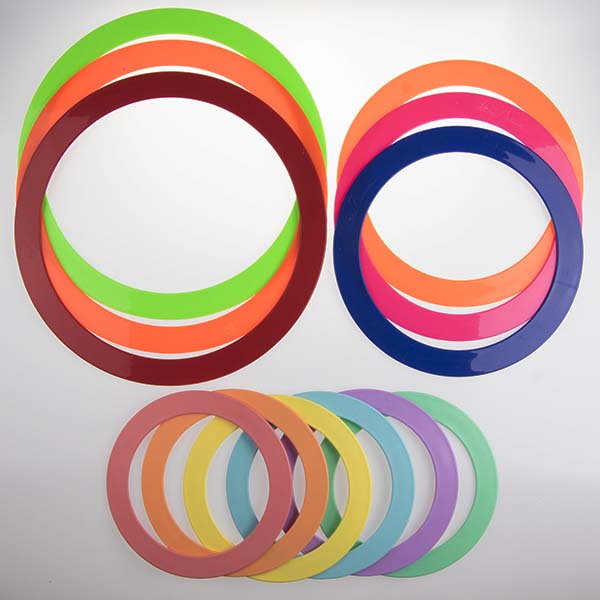 View: flat juggling rings