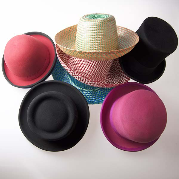 View: juggling hats