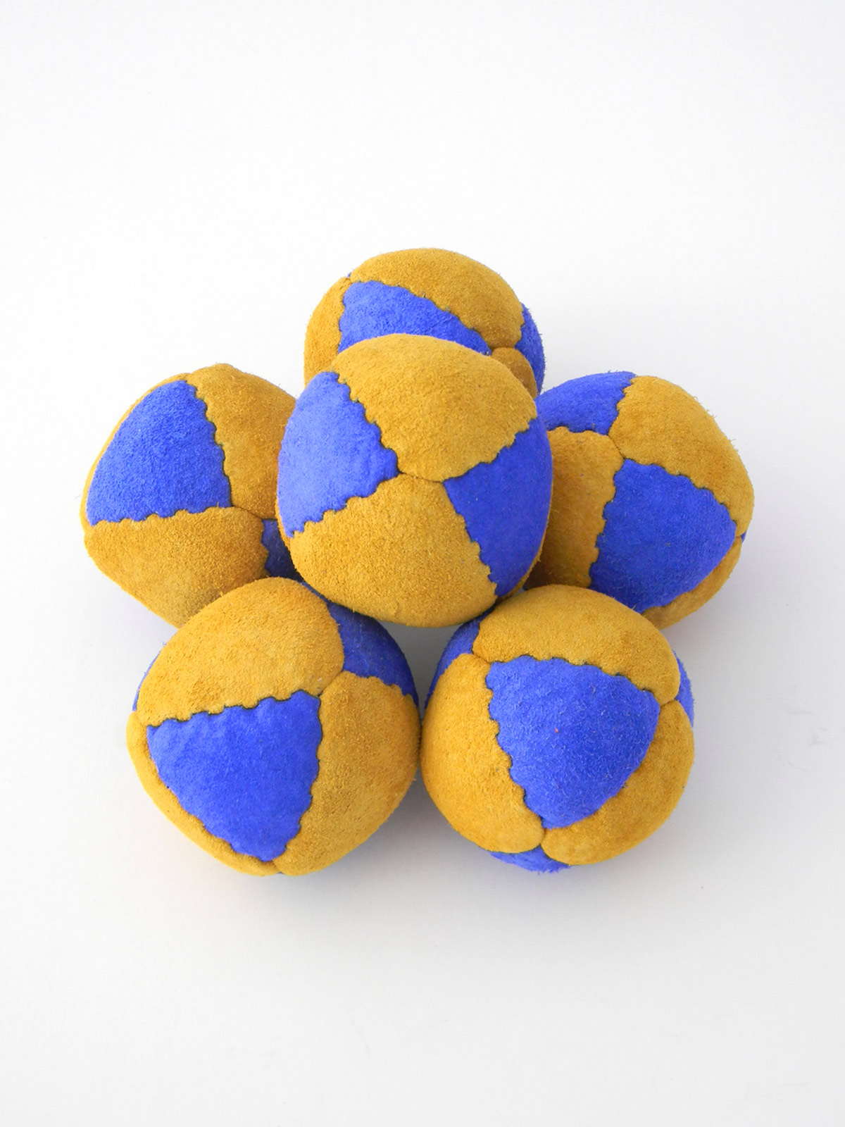 8 panel suede leather juggling beanbag balls - Leather Juggling Balls Leather Beanbags Juggling Balls