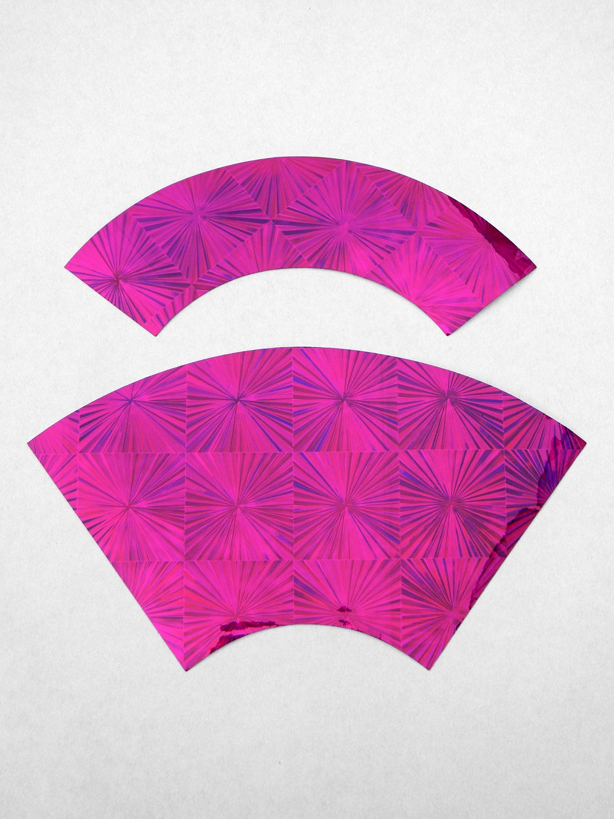 Pre-cut Club Decoration Foil (Fuchsia)