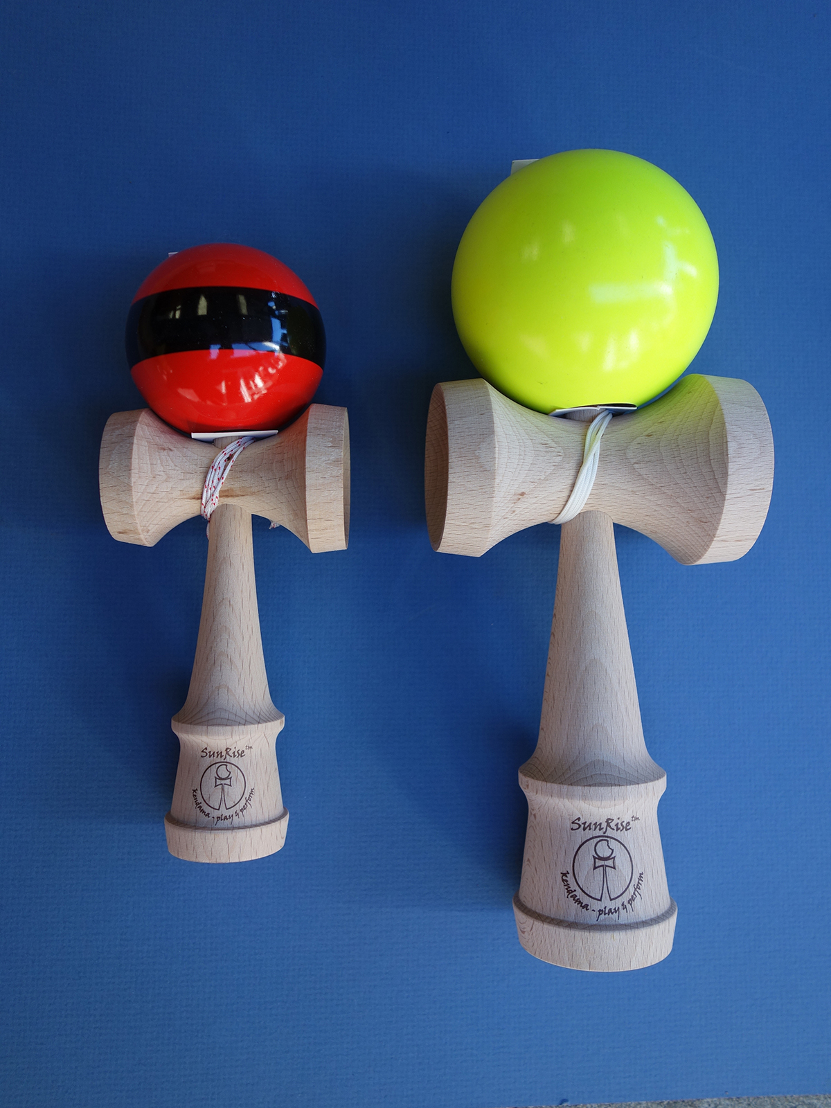 Jumbo Sunrise Kendama Natural