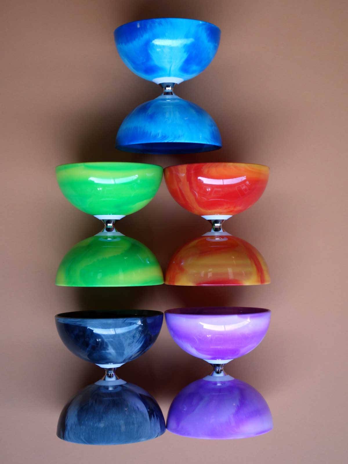 marble diabolo colors