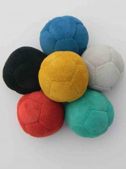12 panel suede leather balls