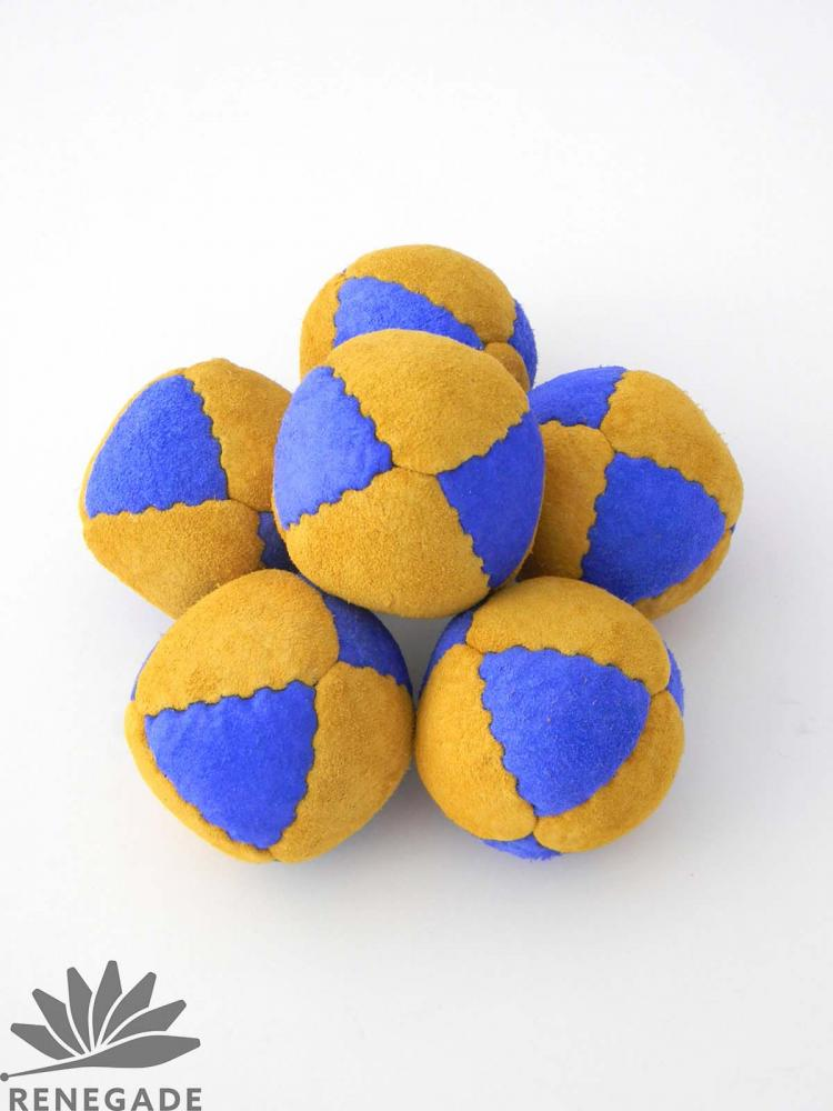 learning suede juggling ball