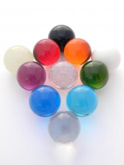 Colored Acrylic Ball 76mm