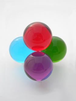 Colored Acrylic Ball 65mm
