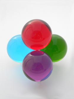 Colored Acrylic Ball 70mm