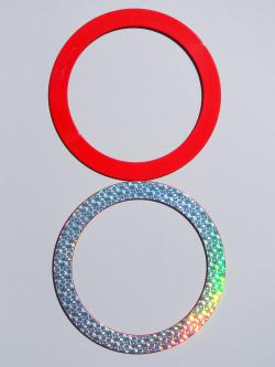 Juggling Ring - Half Holographic