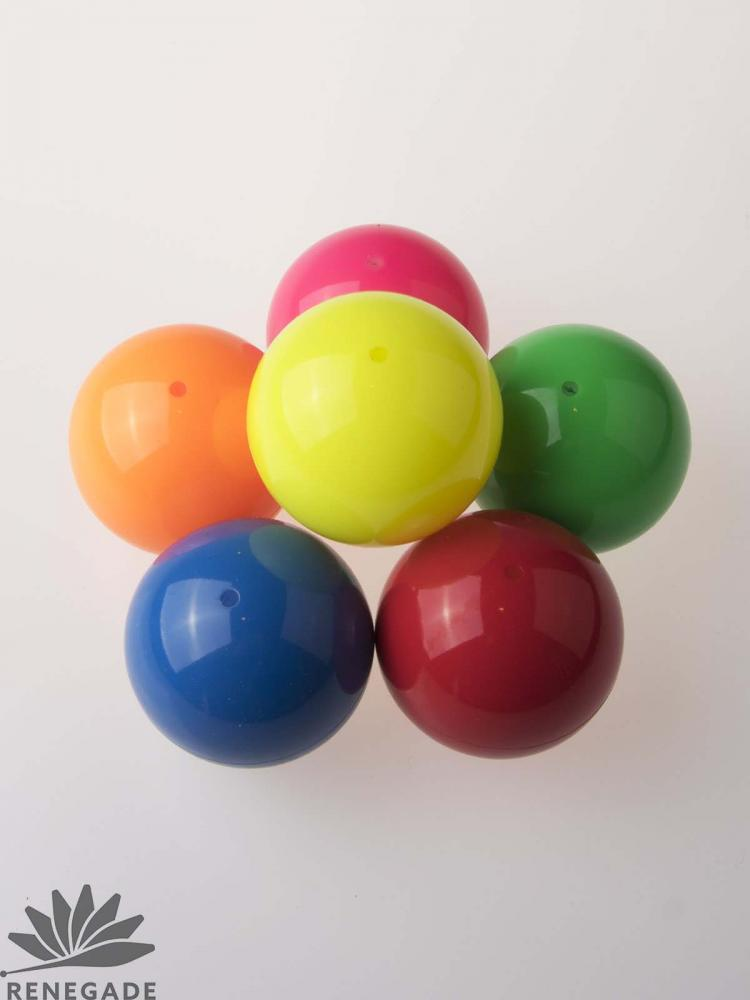 colorful russian juggling ball