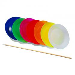 Play plastic spinning plates