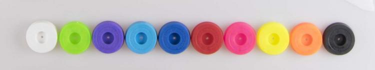 juggling pin cap colors