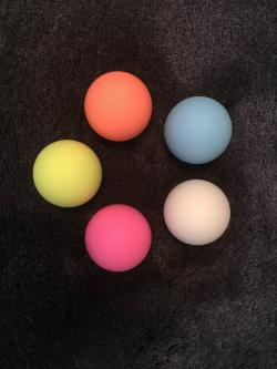 Silicone Ball 2.5, 2.75 inch