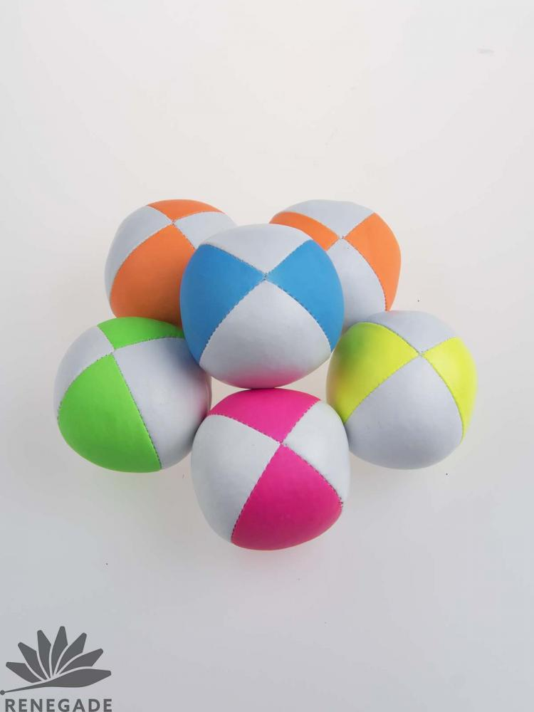colorful juggling beanbag
