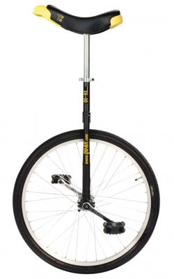 QU-AX Luxus 24 inch unicycle black