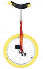 View: QU-AX Luxus 20 inch unicycle red