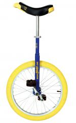 View: QU-AX Luxus 20 inch unicycle blue