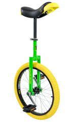 View: QU-AX Luxus 20 inch unicycle green