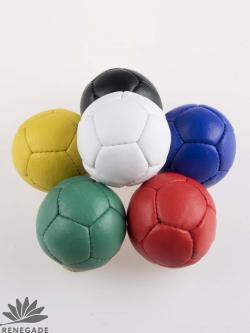 smooth leather juggling ball