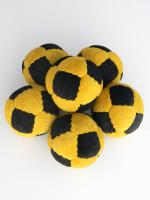 14 Panel Suede Leather Beanbag Juggling Ball