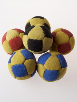 14 Panel Suede Leather Ball (75mm, 130 grams)