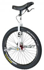 View: QX MUNI 27.5 INCH DISC Q-AXLE WHITE UNICYCLE