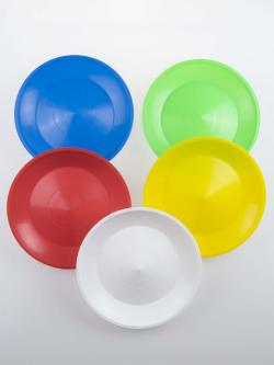 colored spinning plates