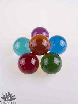 colorful juggling balls