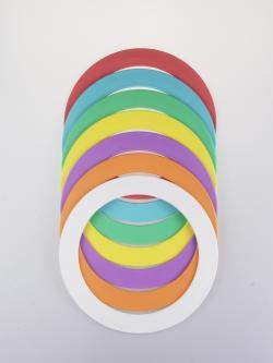 flat juggling rings