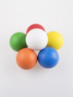 high bounce juggling ball
