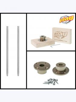 Hand Balance Cane and Socket Kit
