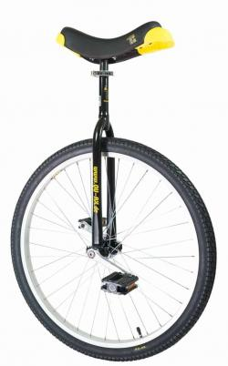 QU-AX Luxus 26 inch unicycle black