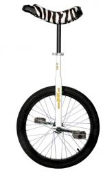 View: QU-AX Luxus 20 inch unicycle white