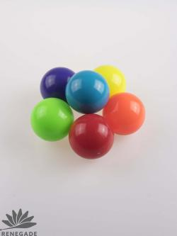 colored sand filled juggling balls