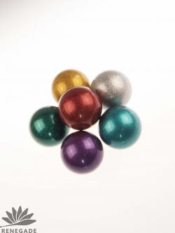 glittery juggling ball
