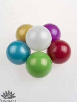 metallic colored russian juggling ball
