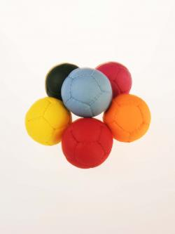 12 panel colored juggling ball